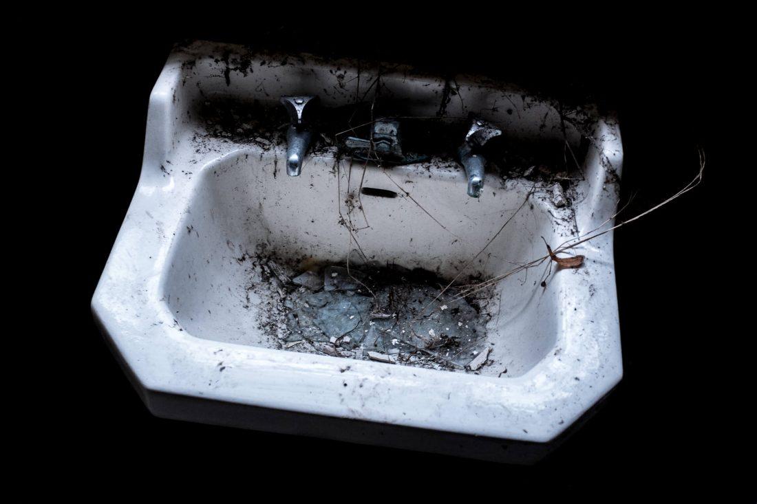 lavabo en urbex