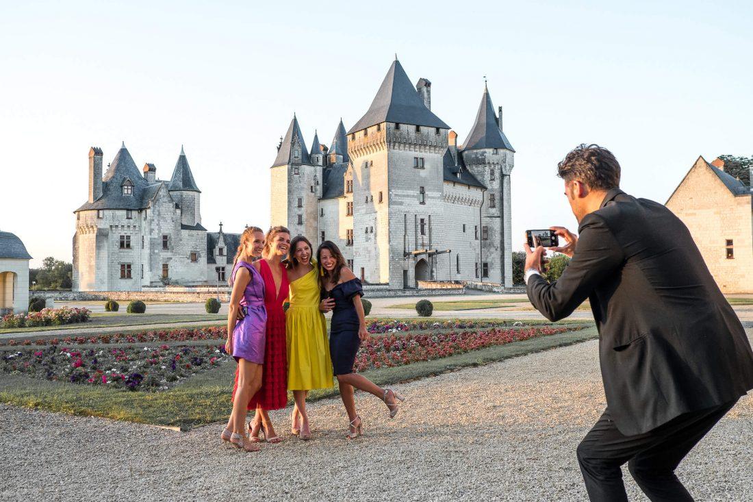 photo instagram et autres reseaux sociaux pendant le cocktail du mariage