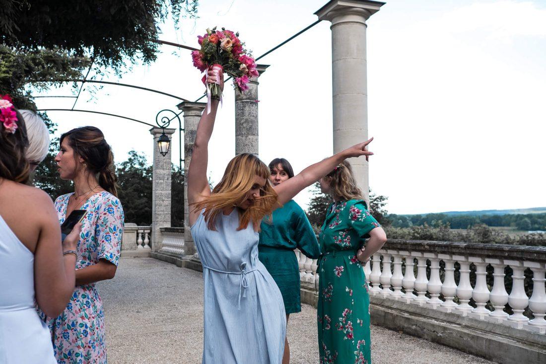 insolites, lancer de bouquet et celebration de la demoiselle d'honneur