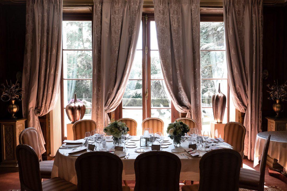 salle de repas d'un mariage a cote de Tours