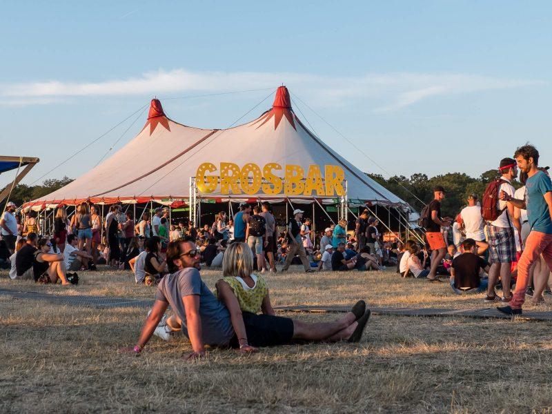 Ambiance au festival Terres du Son